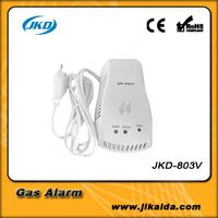 Portable gas detector for home alarm