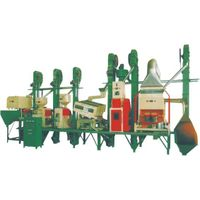 Complete rice mill line machinery