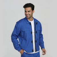 Blue men's industrial fire resistant security protective jackets thumbnail image