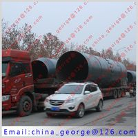 Large capacity hot sale wet process cement rotary kiln sold to Shyghys kazakstan
