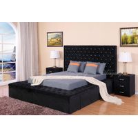 Storge Bed Adult Bed Double Bed Modern Bed Upholstered Bedroom Furniture with Drawers & Bed Couch Be