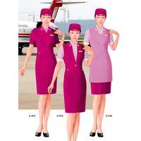 Airline Atewardess Uniform