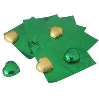 Aluminum foil wrapper for chocolate
