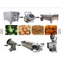Peanut coating production line | coated peanut snack machine