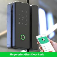 Fingerprint glass door lock thumbnail image