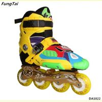 High Quality Roller Inline Skate Shoes Semi Soft Patins (DA1022)