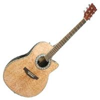 41 inch Electric Acoustic Guitar in Natural Wood Finish thumbnail image