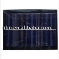 Epoxy-resin encapsulated monocrystalline silicon solar panel 1W