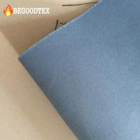 CAN ULC S109 Polyester flame retardant blue blackout curtain fabric