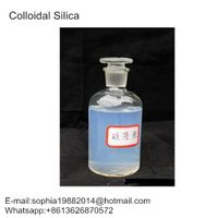 10-20nm Transparent Inorganic High Purity Textile Chemical Colloidal Silica Coating