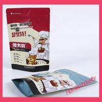 Customized Aluminum Foil Food Packaging Bags with Zipper thumbnail image