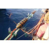 Rubber airbag for subsea pipe line laying