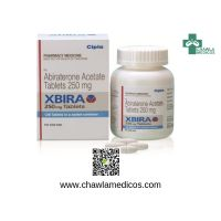 Xbira 250mg Tablets   Cipla Abiraterone Acetate