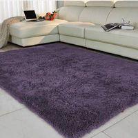 Living room/bedroom Rug Antiskid soft 150cm 200 cm carpet modern carpet mat purpule white pink gra thumbnail image