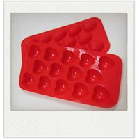 Silicone Chocolate Heart Mold 14 cavities