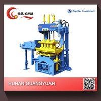 low investment high profit excellent quality GYM-QTY2-20 hydraform manual interlocking brick making