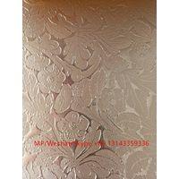 Emboss PET-PVC laminated foil