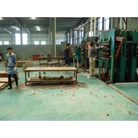 Hot press for Molded door production line