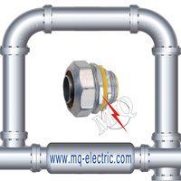 "High Quality Flexible Conduit Liquid Tight Connector 1/2"""