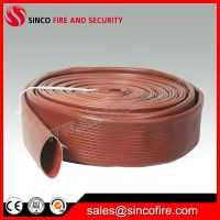 Duraline fire hose with rubber lining