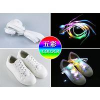Fashionable design colorful nylon luminous shoelace light up led shoelace thumbnail image