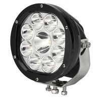 UNISUN 7inch 90watt Offroad 4x4 CREE LED Driving Light Spot Beam