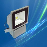 High Lumen LED Flood Lighting With COB Epistar Chip, 70W, IP65, PF>0.95