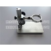 Precision microscope metal frame