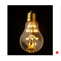 A23 LED light edison bulbs 2200K