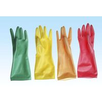 household gloves /colorful rubber gloves
