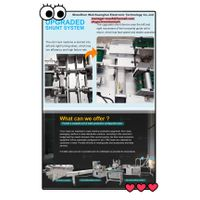 Full Automatic High speed face mask machine 800pcs per minute Direct forming with band earloop ultra thumbnail image