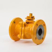 Anti-Static WCB Natural Fuel Gas Ball Valve with Grease Injection Valve thumbnail image
