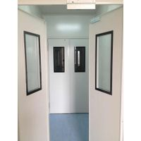 Industrial Customer-Tailored Construction Material Aluminum Alloy 50mm Clearoom Automatic Door