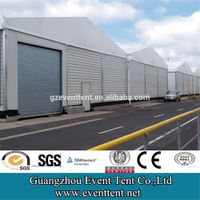 Customized 20 span wide industrial tent for warehouse factory storage