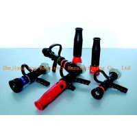Staight stream water curtain fire nozzle