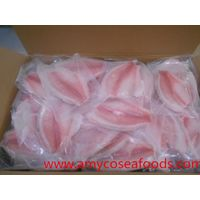 Beautiful tilapia fillet clean glazing CO treated