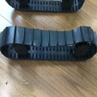 Small Rubber Track 50*19*54