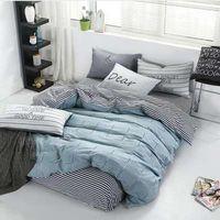 100% cotton satin bedding set comforter bedding set duvet cover bed sheet pillow Quilt cover Single/ thumbnail image