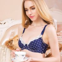 100% cotton nursing breast feeding bras for pregnant women jq7000