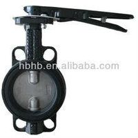 Dn100 handle wafer butterfly valve thumbnail image