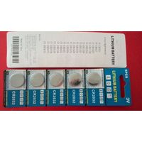 CR2032 blister card packing Button Cell Battery