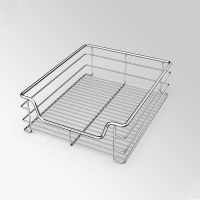 Stainless Steel Wire Kitchen Drawer Basket thumbnail image