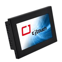 cheapest 7 inch resistive touch monitor 500ints brightness 5 wire resisitve with lcd panel touch thumbnail image