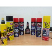 STP car care products/protectant wax/tire shine/coolant