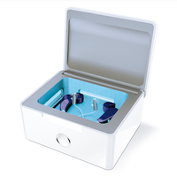 Hearing Aid Dryer Drying Box Dehumidifier case protect hearing aid and cochlear with uv light cleani