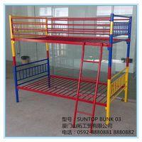 Kids bunk bed,Metal bunk bed,metal deck bed,School & Factroy bunk bed,SUNTOP BUNK 03