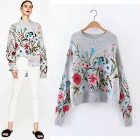 China Factory Wholesale Export All Kinds Of Embroidered Knitwear thumbnail image