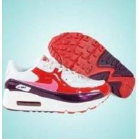 Nike Max LTD Pink Logo Kids Shoes - White+Purple+Red