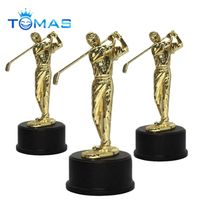 High quality factory made custom metal golf sculptures