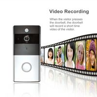 Video Doorbell Smart Doorbell Camera Ring Security System Dual Audio Remote Controlled by Mobiles